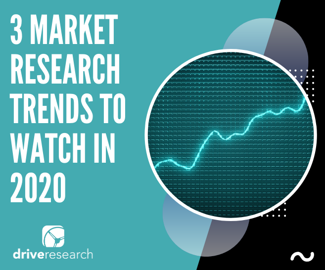 3 Market Research Trends to Watch in 2020