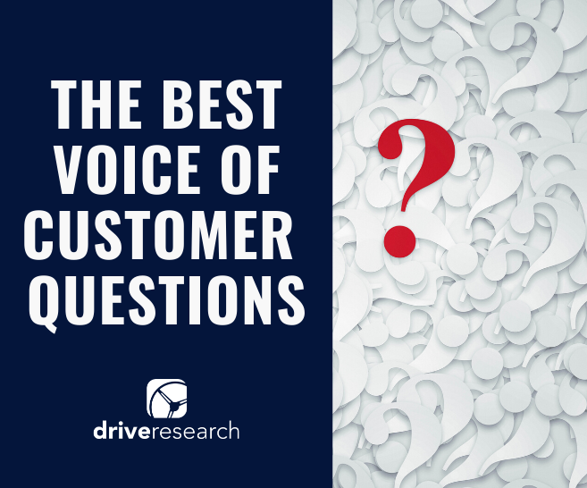 voc questions market research tips