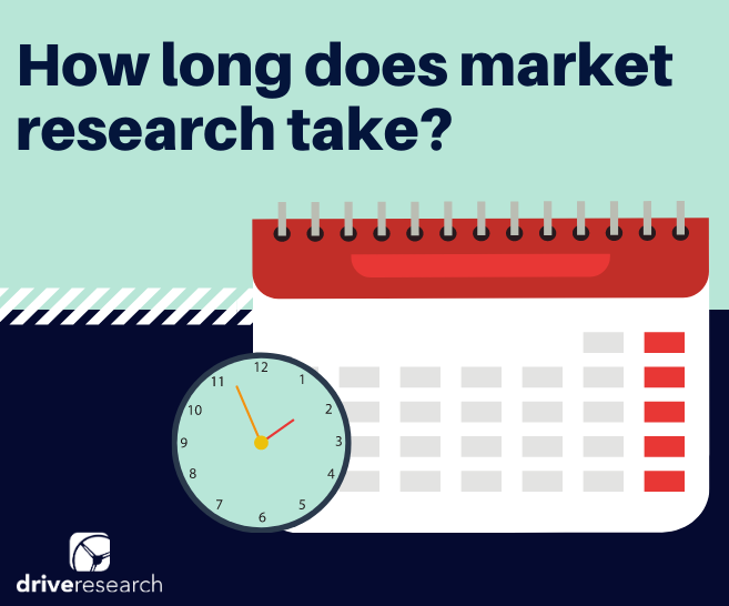 BLOG: HOW LONG DOES MARKET RESEARCH TAKE