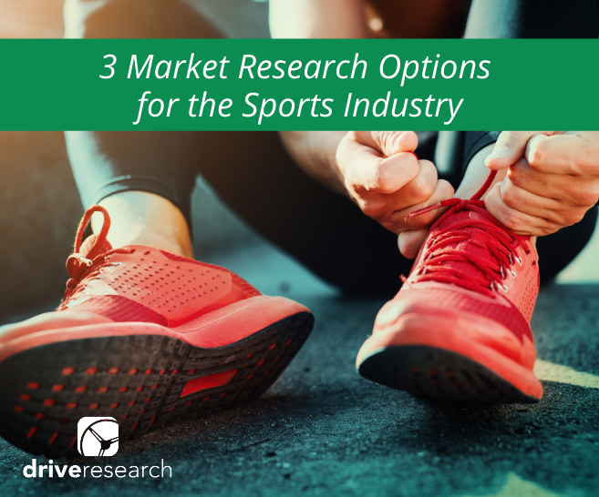 Blog: 3 Market Research Options for the Sports Industry