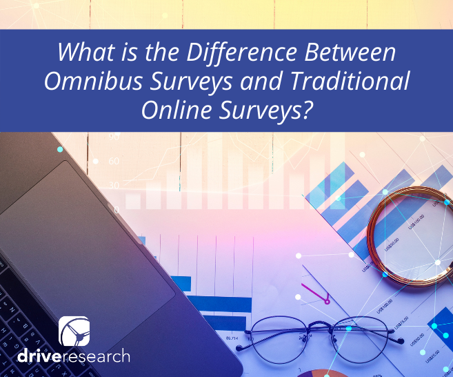 Blog: What is the Difference Between Omnibus Surveys and Traditional Online Surveys?