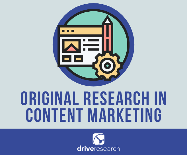 original research in content marketing